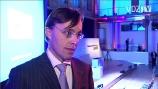 Image: 14.01.2008 Dr. Andreas Wiele Vorstand Axel Springer Im interview auf den Zeitschriftentagen 2008