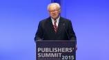Image: 02.11.2015 Prof. Dr. Hubert Burda Präsident VDZ Tag 1 Rede auf dem Publishers Summit 2015
