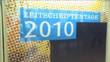 Image: 24.11.2010 VDZ Zeitschriftentage  Berlin 2010
