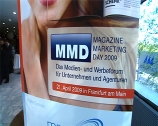 Image: 01.05.2009 Magazine Marketing Day  Frankfurt 2009