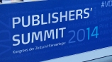 Image: 06.11.2014 VDZ Publishers Summit 2014  Berlin 2014