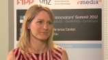 Image: 30.03.2012 Katie Stanton Vice President Market Development Twitter Im Interview auf dem Digital Innovators� Summit 2012