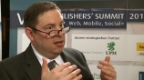 Image: 27.11.2012 Andrew Rashbass Ceo, The Economist Im Interview auf dem Publishers Summit 2012