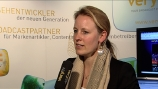 Image: 06.04.2009 Donata Hopfen Leiterin Business Development Axel Springer Im Interview auf dem Digital Innovators� Summit 2009