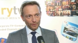 Image: 07.11.2016 Christian Lindner Im Interview auf dem Publishers Summit 2016 FDP-Bundesvorsitzender