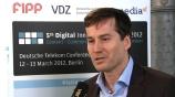 Image: 03.07.2012 Stephan Scherzer  Hauptgeschäftsführer VDZ Im Interview auf dem Digital Innovators� Summit 2012