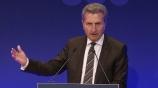 Image: 07.11.2016 Günther H. Oettinger Vortrag auf dem Publishers Summit 2016 EU-Kommissar