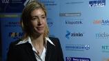 Image: 15.12.2008 Christiane zu Salm  Im Interview auf den Zeitschriftentagen 2008